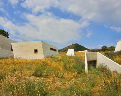 Archeopark Pavlov - exteriér