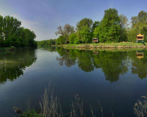 Soutok řeky Moravy a Dyje