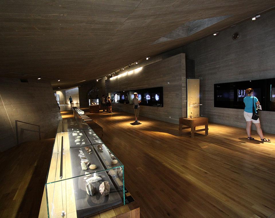 Archeopark Pavlov - vnitřní prostory