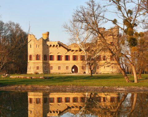 Janův hrad (Janohrad) na podzim