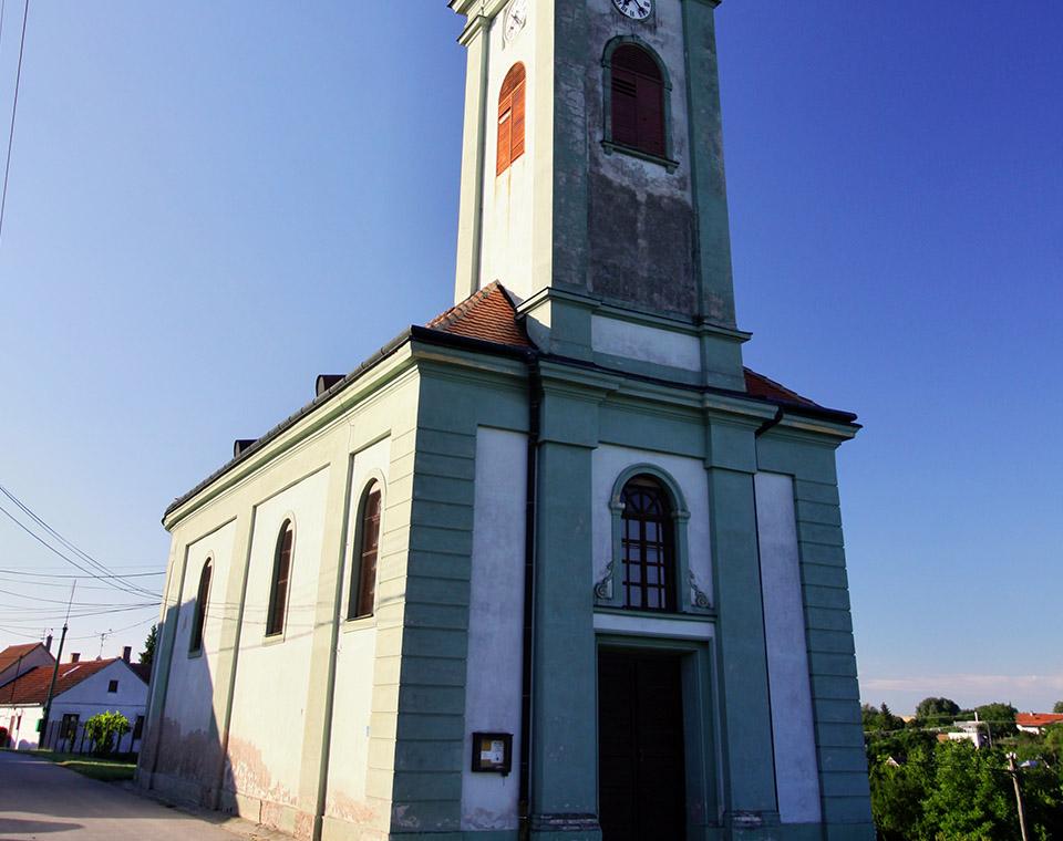 Úvaly - kostel